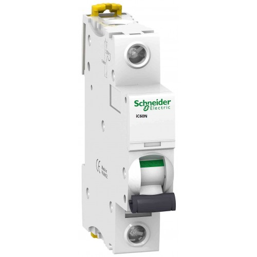 Авт.выкл. 2А   Schneider Electric iC60N 1P, C | Интернет-магазин ElectroSale | Фото 1