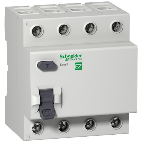 УЗО 63А Schneider Electric EZ9R34463 Easy9, 4P, 30мА | Интернет-магазин ElectroSale | Фото 1